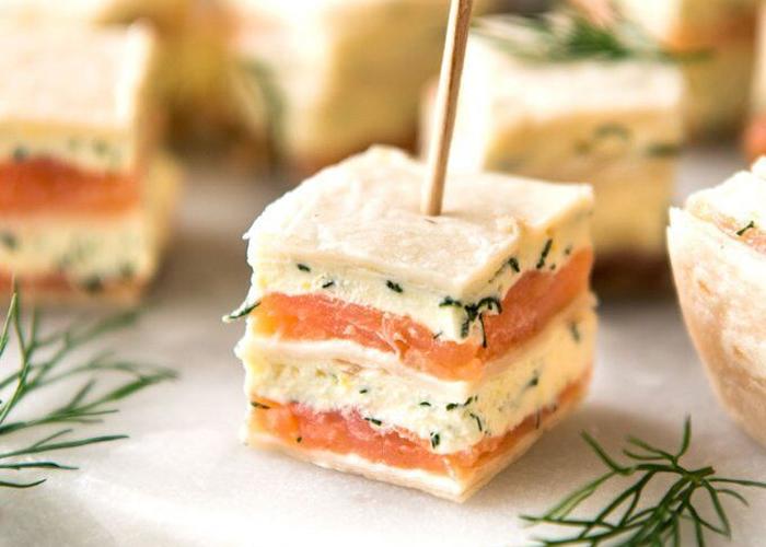 Smoked Salmon Tea Sandwiches – Gerard & Dominique Seafoods